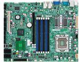 ATX MBD X58 UP 24GB DDR3 6X SATA 4X LAN VGA (Supermicro Computer, Inc: X8STI-LN4-O)