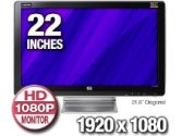 "21.5"" Widescreen Monitor (Hewlett-Packard: FV585AA#ABA)"