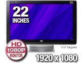 "21.5"" Widescreen Monitor (Hewlett-Packard: FV585AA#ABA)"