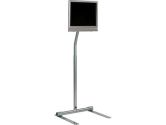 FLOOR STAND LCD MNT 75/100 VESA,SLV (Peerless Industries, Inc.: LCFS-100S)