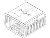 SECUR ENCL F/PRJCTRS 11 TALL X 20 WD-WHT (Peerless Industries, Inc.: PE1120-W)