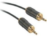 PLENUM 3.5MM STEREO M/M 15FT (Cables To Go: 40949)