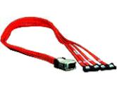 HIGHPOINT IB-1M4S MULTI-LANE SATA2 CABLE FOR 2240 2224 RAID CONTROLLER (HighPoint Technologies: IB-1M4S)