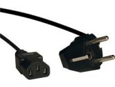 TRIPP LITE P054-006 6FT IEC-320-C13 TO SCHUKO CEE 7 7 POWER CABLE RETAIL (Tripp Lite: P054-006)