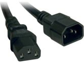 TRIPP LITE P005-002 HEAVY-DUTY POWER CABLE - 2 FT. C13 TO C14 REAIL (Tripp Lite: P005-002)