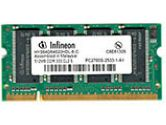 512MB - 333MHz DDR333/PC2700 - DDR SDRAM - 200-pin (Fujitsu: FPCEM100AP)