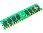 1GB DDR2 Memory 240Pin DIMM DDR2-800 Unbuffer Non-ECC Memory (TRANSCEND: TS128MLQ64V8J)