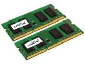 CRUCIAL MEMORY CT2KIT51264BC1067 8GB KIT  204-PIN SODIMM DDR3 PC3-8500 (CRUCIAL VALUE LINE: CT2KIT51264BC1067)