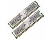 OCZ Platinum XTC PC2-6400 2GB 2X1GB DDR2-800 CL4-5-4-15 240PIN DIMM Dual Channel Memory Kit (OCZ Technology: OCZ2P8002GK)