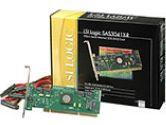 LSI LOGIC CC LSI00166 SAS3041X-R ROHS-6 SATA 3GB S PCI-X HBA 4-PORT  5 (LSI Logic Corp: LSI00166)