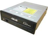 ASUS CD-ROM 52X BLACK BULK (ASUSTeK Computer: CD-S520/A6 BULK BLACK)