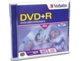 DVD+R - 4.7GB - 120mm Standard (Verbatim Corporation, Inc: 95032)