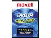 DVD-R - 4.7GB - 120mm Standard (Maxell: 635032C)