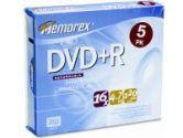 QTY 6:DVD+R 4.7GB SLIM 5PK (Imation Corp.: 32025622)