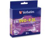 Verbatim -6 x 3pk DVD+R  8.5 GB 2.4x - storage media (Verbatim Corporation, Inc: 95014-K)