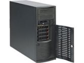 SUPERMICRO MID-TOWER 665W PS 4X 3.5 SAS SATA HOT-SWAP DRIVE BAYS RETAIL (Supermicro Computer, Inc: CSE-733TQ-665B)