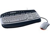 Keyboard - Cable - Mouse - Optical - mini-DIN  - USB - Keyboard, Type A -  - Mouse (Microsoft Corporation.: K96-00043)