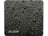 RAINDROP BLACK MOUSE PAD RAINDROP BLACK MOUSE PAD (Allsop Inc: 23358)