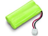 SPARE,BATTERY,NiMH,2.4V 750mAH,W/CONNECTOR,HANDSET,CALISTO (Plantronics: 77049-01)