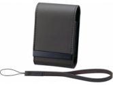SOFT CRR CASE BLK F/CYSHOT W/S&T SERS (Sony Corporation: LCSCSVBB)