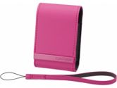SOFT CRR CASE PINK F/CYSHOT W/S&T SERS (Sony Corporation: LCSCSVBP)