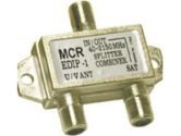 ECONOMY DIPLEXER - Combines and splits satellite, antenna and broadband signals (Cables To Go: 41051)