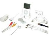 ULTIMATE iPOD COMPANION KIT - White, Blue (Cables To Go: 35511)