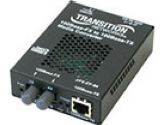 JUST CONVERT IT MEDIA CONVERTER 100BASE-TX TO 100BASE FX SM SC (Transition Networks, Inc.: J/FE-CF-04(SM)-NA)