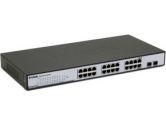 D-LINK NT DGS-1224TP WEB SMART 24-PT GIGABIT POE SWITCH 4-RT COMBO SFP RETAIL (D-Link Systems, Inc.: DGS-1224TP)