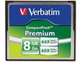PREMIUM COMPACTFLASH 8GB (Verbatim Corporation, Inc: 96196)