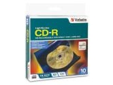 VERBATIM LIGHTSCRIBE 52X CD-R 700MB 80MIN 10PK SPINDLE (Verbatim: 95115)
