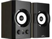 Eagle ET-AR302-BK 2.0 Black Soundstage Speakers (Eagle Tech: ET-AR302-BK)