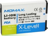 Momax X-LEVEL PDA Battery 1150MAH for HTC Google G1 / Dream (Momax: BAGOG1XL)