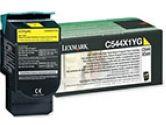 Lexmark - Consumables C544/X544 Extra High Ret Prog Ylw Toner Cart (Lexmark: C544X1YG)