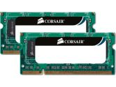 CORSAIR 8GB (2 x 4GB) 204-Pin DDR3 SO-DIMM DDR3 1333 Laptop Memory (Corsair: CMSO8GX3M2A1333C9)