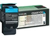 Lexmark - Consumables C544/X544 Extra High Ret Prog Cyan Toner Cart (Lexmark: C544X1CG)