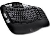 Logitech K350 Black 2.4 GHz Wireless Keyboard (Logitech: 920-001996)