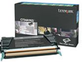 Lexmark Return Program Black Toner Cartridge for C734 C736 X734 X736 X738 (Lexmark: C734A1KG)