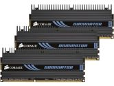CORSAIR DOMINATOR 6GB (3 x 2GB) 240-Pin DDR3 SDRAM DDR3 1600 (PC3 12800) Desktop Memory (Corsair: CMP6GX3M3A1600C8)