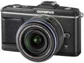 Olympus E-P2 Pen Digital Camera w/ 14-42mm Zuiko Lens (Black) (OLYMPUS IMAGE SYSTEMS: 262829)