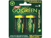 Perf Go Green 25009 D Batteries - 2-Pack (Perf Go Green: 25009)