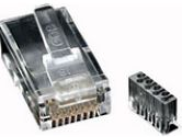 StarTech Cat 6 RJ45 Modular Plug for Solid Wire (STARTECH: CRJ45C6SOL)