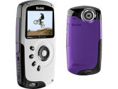 "Kodak Zx3 Purple 2.0"" LCD HD Video Camera (Kodak: 1734789)"