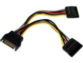 """StarTech 6"""" SATA Power Y Splitter Cable (STARTECH: PYO2SATA)"""