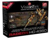 VisionTek Radeon HD 4350 900289 Video Card (Visiontek: 900289)