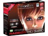 Visiontek 3450 PCI 512MB Heatsink (Visiontek: 900302)