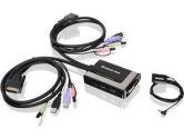 IOGEAR GCS932UB 2-Port USB DVI KVM with Audio and Mic. (IOGEAR: GCS932UB)