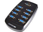 StarTech.com 8 Port Wall Mount VGA Video Splitter - 1 x HD-15 Video In, 8 x HD-15 Video Out - 1600 x 1200 - UXGA (StarTech.com: ST128W)