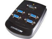 StarTech.com 4 Port Wall Mount VGA Video Splitter - 1 x HD-15 Video In, 4 x HD-15 Video Out - 1600 x 1200 - UXGA (StarTech.com: ST124W)