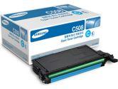 Samsung CLT-C508S Toner Cartridge - Cyan Laser - 2000 Page (Samsung: CLT-C508S/XAA)
